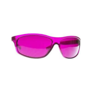Magenta-colour-therapy-glasses