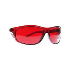 Red colour therapy glasses