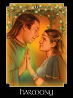The Harmony oracle card, representing a deep spiritual union or partnership. This may be a romantic relationship or with a new group. The Harmony card asks if it is time to look at current relationships and if you have decisions to make. Questions to ask yourself: What am I learning from this relationship? how can I make it stronger? Are the people in my life encouraging and empowering? To book an appointment with Heidi Wells Psychic Clairvoyant and Happiness Coach in Twickenham or via Skype call 020 8894 7343 / 0771 4257461