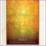 This oracle card represents a time for peace. To book an appointment with Heidi Wells Psychic Clairvoyant and Happiness Coach in Twickenham or via Skype call 020 8894 7343 / 0771 4257461