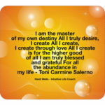What are your creating with your thoughts and actions today? Are your thoughts and desires aligned? You create your life with your thoughts and visualisations so keep them positive and high vibration. To book an appointment with Heidi Wells Psychic Clairvoyant and Happiness Coach in Twickenham or via Skype call 020 8894 7343 / 0771 4257461