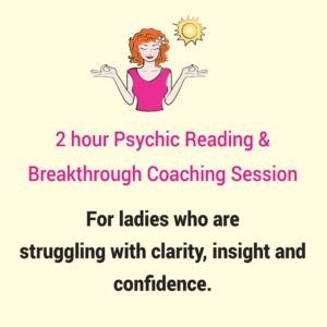 2hr psychic reading and breakthrough session with Heidi Wells 020 8894 7343