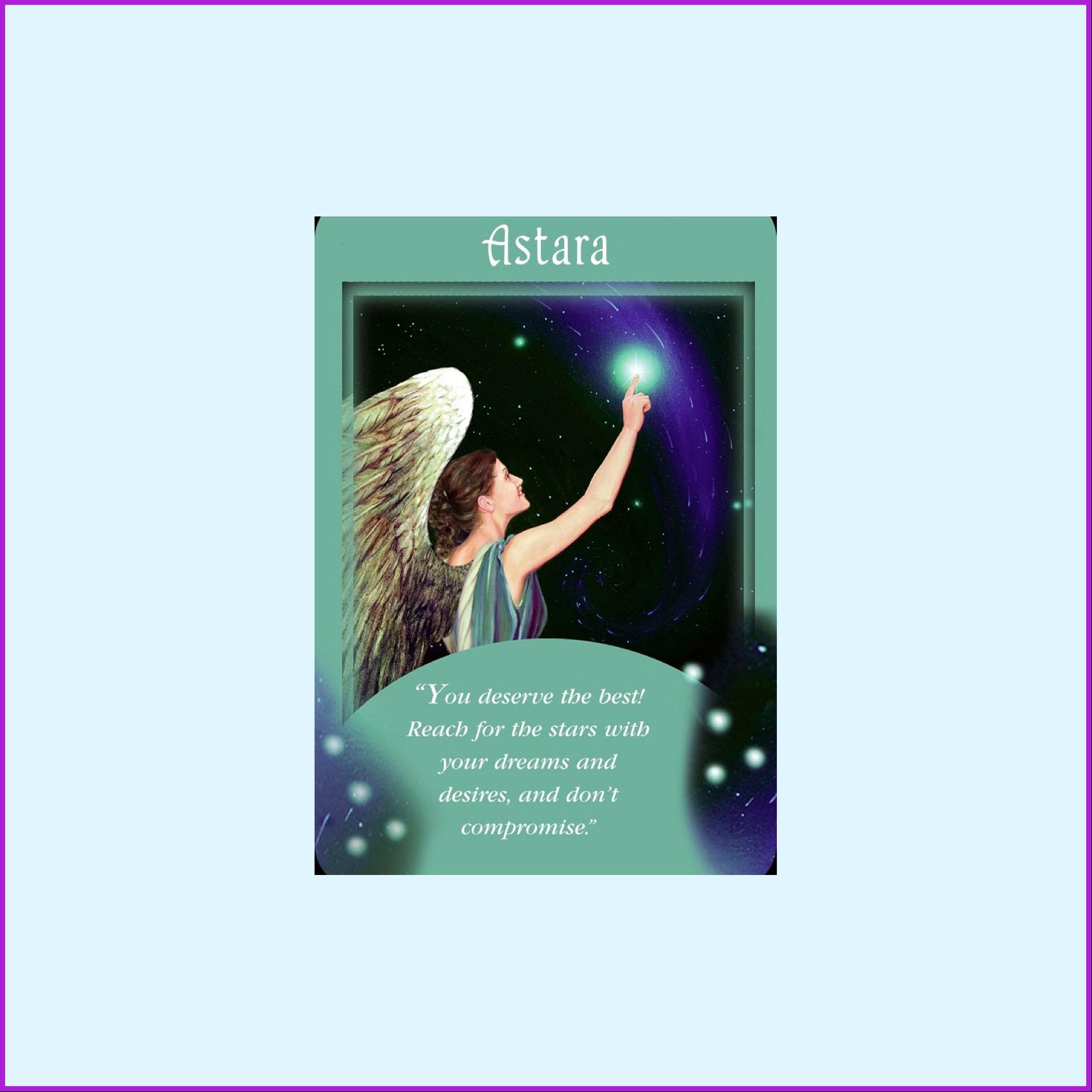 Angel Message   Astara   You deserve the best