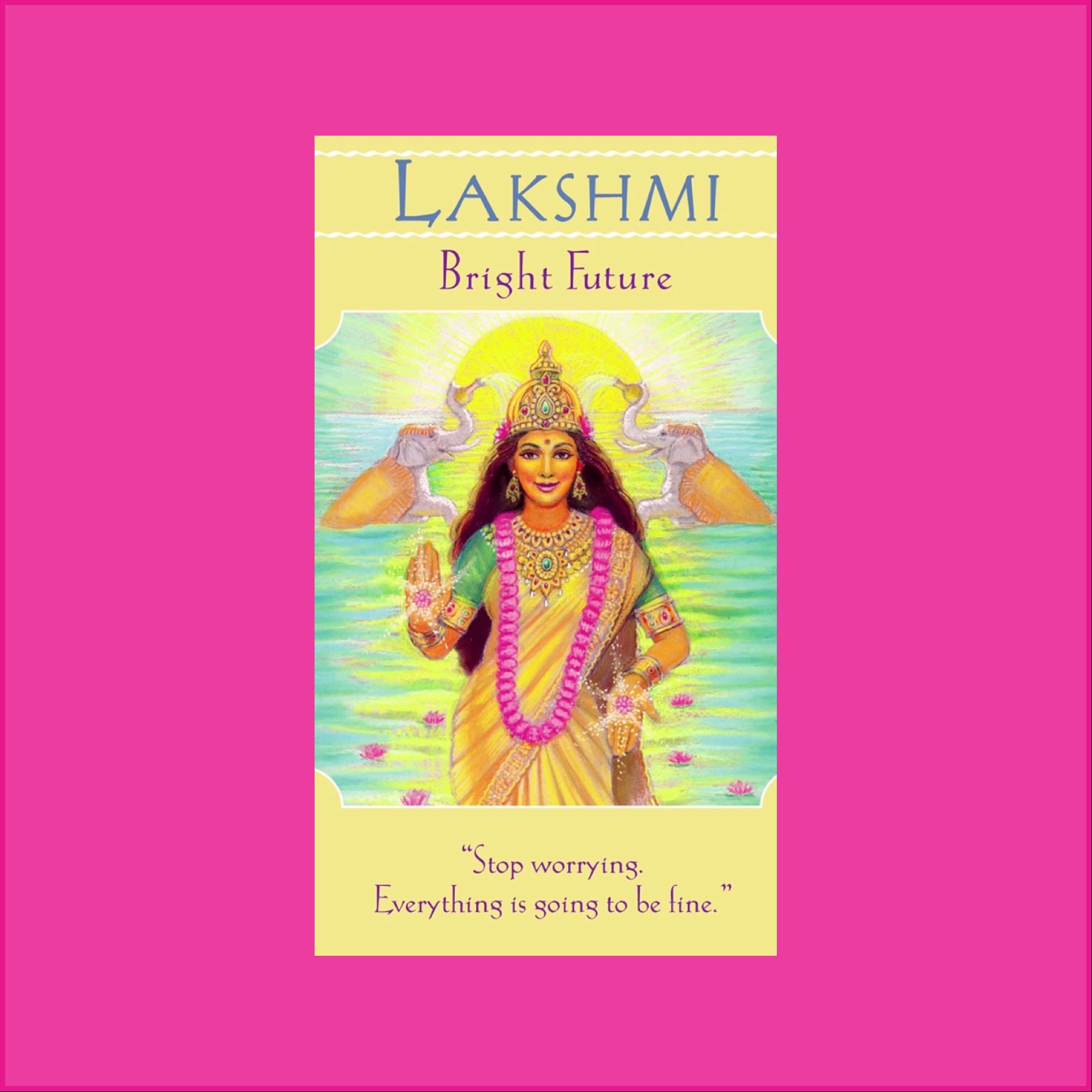 Angel Message   Lakshmi   Release Fear